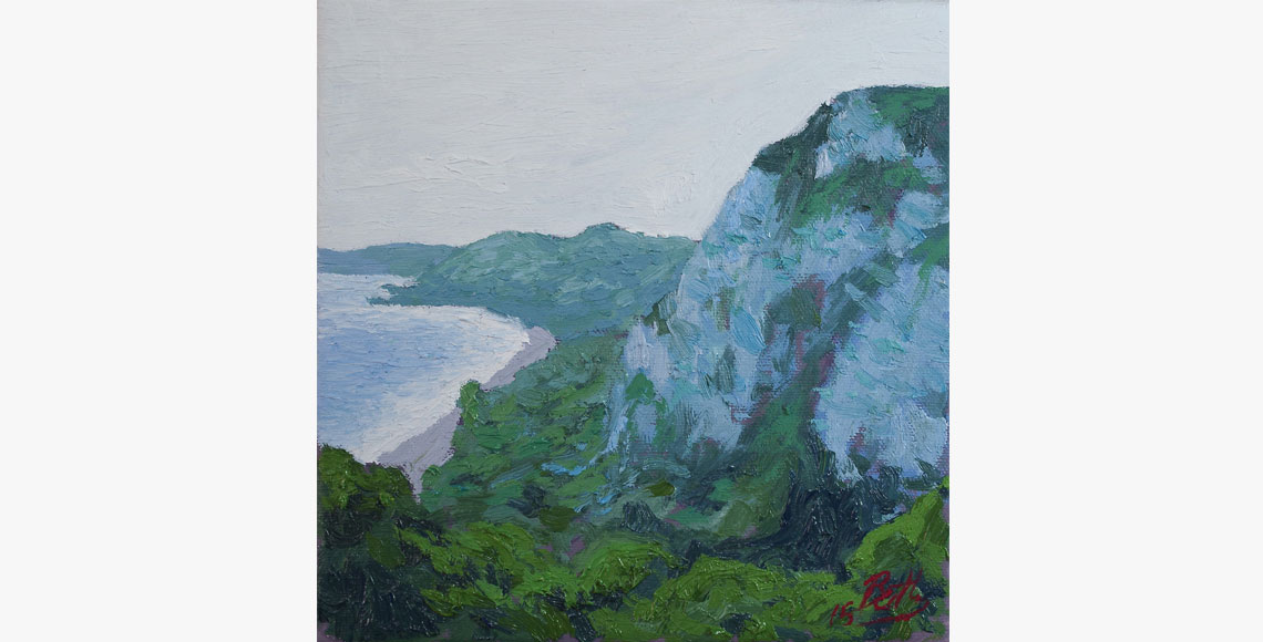 Colin Bentley | Branscombe Blue Cliffs