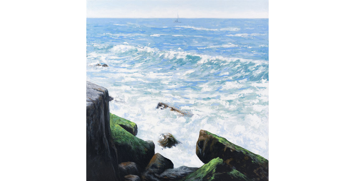 Colin Bentley | Looking out towards the sea
