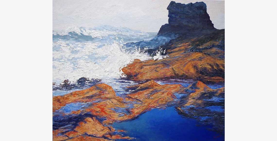 Colin Bentley | Winter Sea, Horse Rock