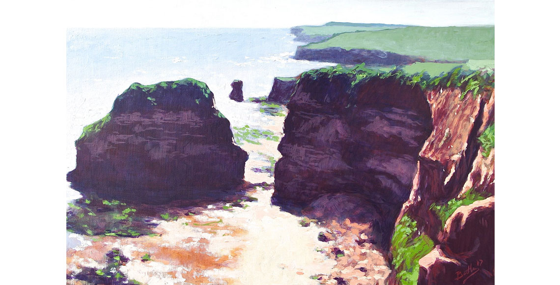 Colin Bentley | Hern Point Rock