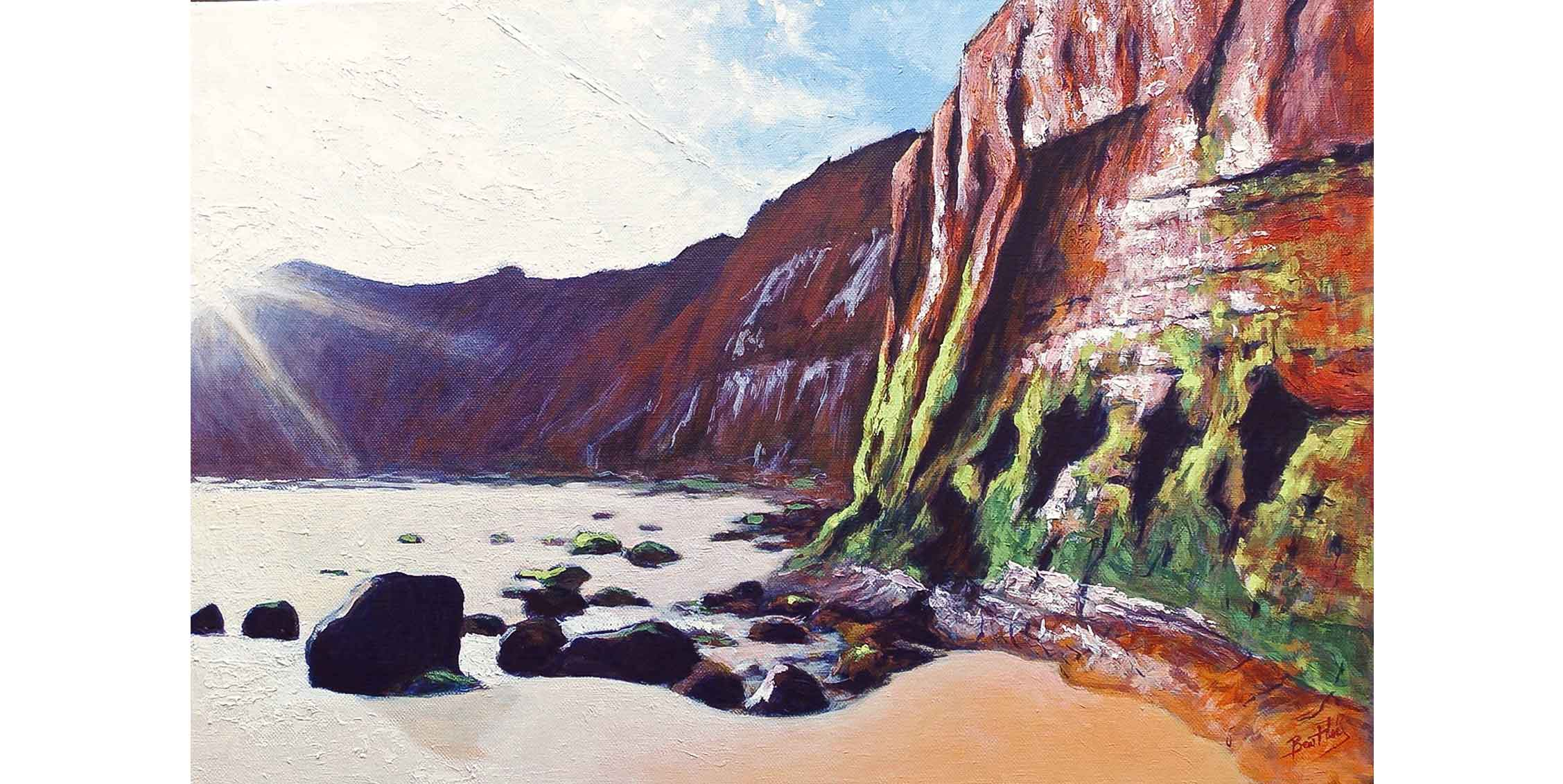 Triassic Cliffs, Sidmouth